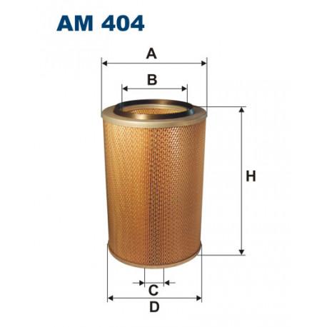 FILTRON FILTR POWIETRZA AM 404