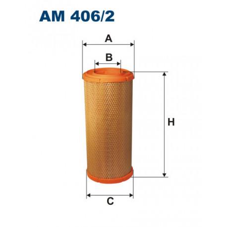 FILTRON FILTR POWIETRZA AM406/2