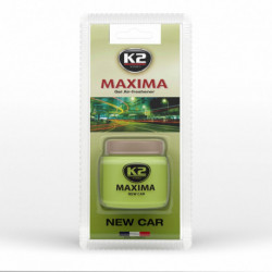 K2-ZAPACH MAXIMA 50ML ZELOWY NEW CAR