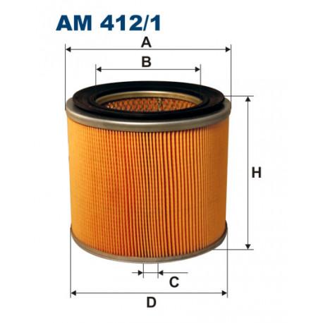 FILTRON FILTR POWIETRZA AM412/1