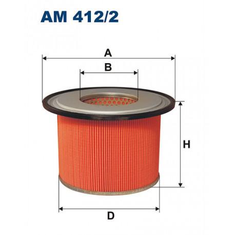 FILTRON FILTR POWIETRZA AM412/2