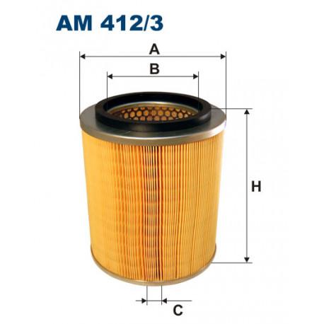 FILTRON FILTR POWIETRZA AM412/3