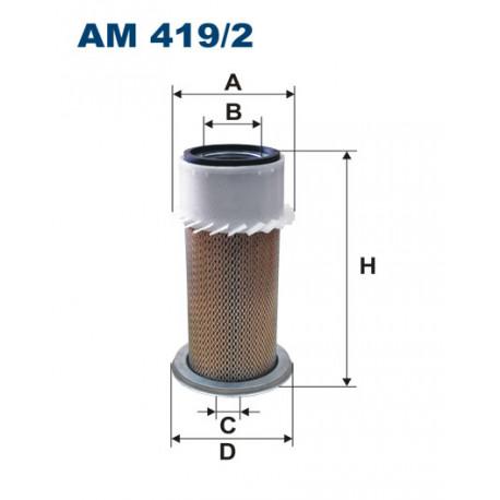 FILTRON FILTR POWIETRZA AM419/2
