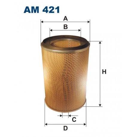 FILTRON FILTR POWIETRZA AUTOSAN AM421