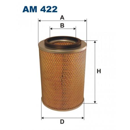 FILTRON FILTR POWIETRZA AM422