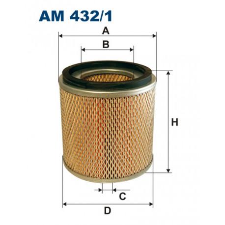 FILTRON FILTR POWIETRZA AM 432/1