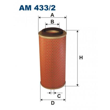 FILTRON FILTR POWIETRZA AM433/2