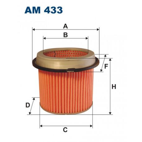 FILTRON FILTR POWIETRZA AM433