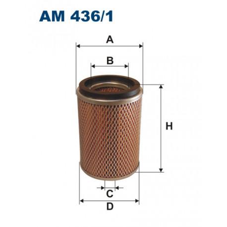 FILTRON FILTR POWIETRZA AM436/1