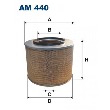FILTRON FILTR POWIETRZA AM440