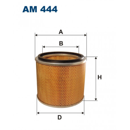 FILTRON FILTR POWIETRZA AM444