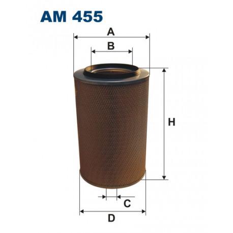 FILTRON FILTR POWIETRZA AM455