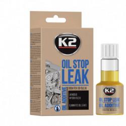 K2-STOP LEAK OIL 50ML LIKWIDUJE WYCIEKI