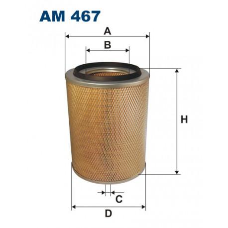 FILTRON FILTR POWIETRZA AM467