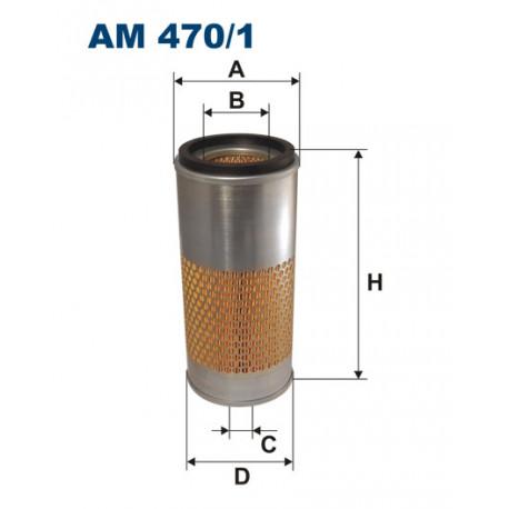 FILTRON FILTR POWIETRZA AM470/1