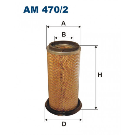 FILTRON FILTR POWIETRZA AM470/2
