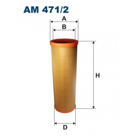 FILTRON FILTR POWIETRZA AM 471/2