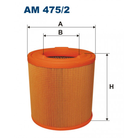 FILTRON FILTR POWIETRZA AM475/2