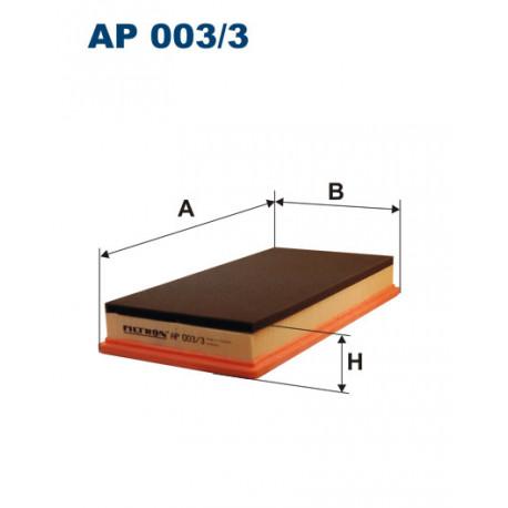 FILTRON FILTR POWIETRZA AP 003/3