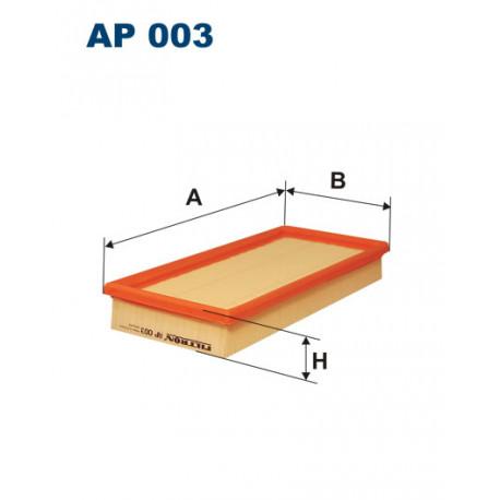 FILTRON FILTR POWIETRZA AP 003