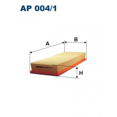 FILTRON FILTR POWIETRZA AUDI A6/A8 95- AP 004/1