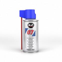 K2 007 WIELOFUNKCYJNY ŚRODEK SMARUJĄCY 150 ML