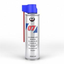 K2 007 WIELOFUNKCYJNY ŚRODEK SMARUJĄCY 250 ML