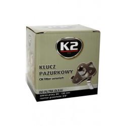 K2-KLUCZ PAZURKOWY DO FILTRA OLEJU 3/8