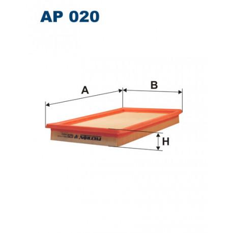 FILTRON FILTR POWIETRZA AP020