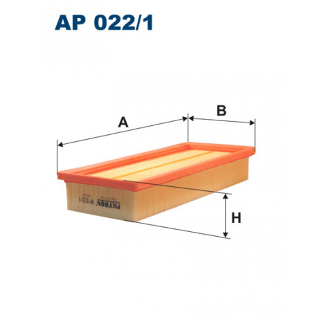 FILTRON FILTR POWIETRZA AP022/1