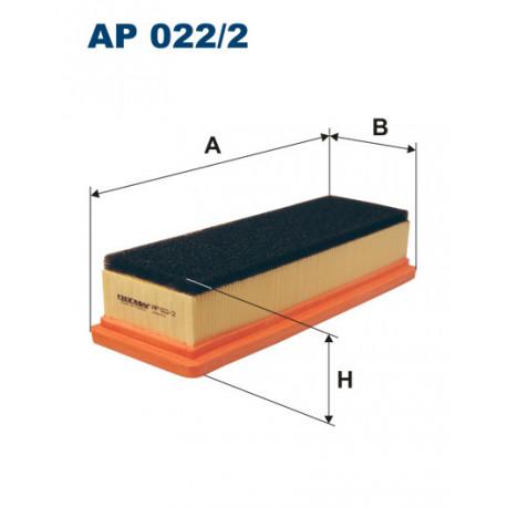 FILTRON FILTR POWIETRZA AP 022/2
