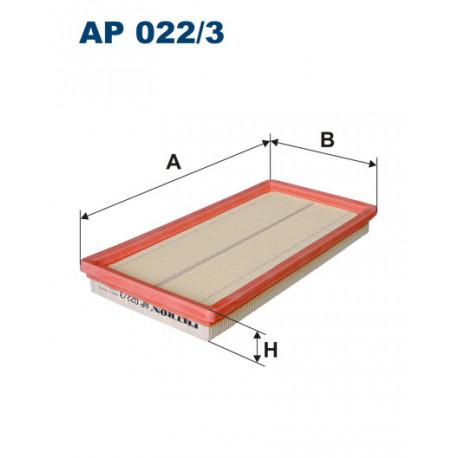 FILTRON FILTR POWIETRZA AP022/3