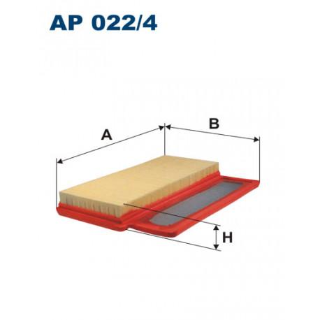 FILTRON FILTR POWIETRZA AP022/4