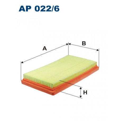 FILTRON FILTR POWIETRZA AP 022/6