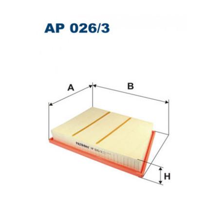 FILTRON FILTR POWIETRZA AP026/3