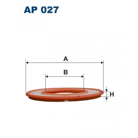 FILTRON FILTR POWIETRZA AP027
