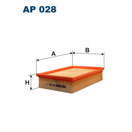 FILTRON FILTR POWIETRZA AP028
