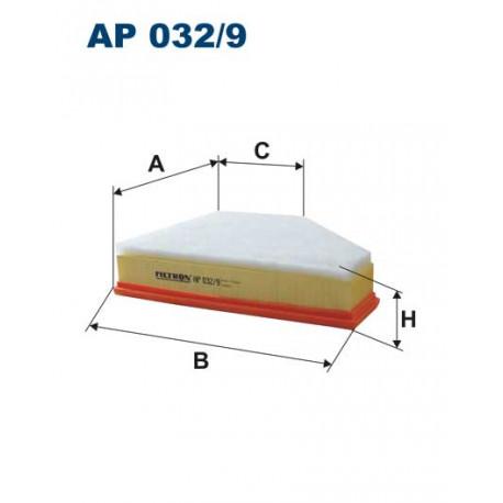 FILTRON FILTR POWIETRZA AP032/9