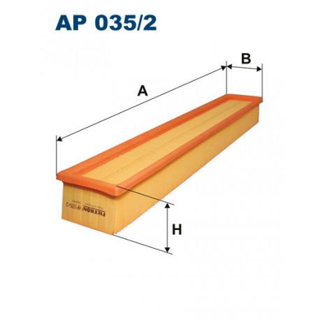 FILTRON FILTR POWIETRZA AP035/2