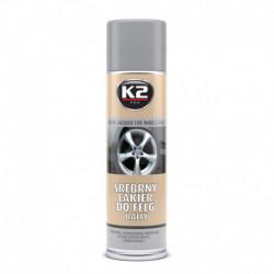 K2-LAKIER SREBRNY DO FELG 500ML