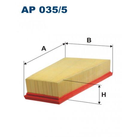 FILTRON FILTR POWIETRZA MERCEDES A W176 11- AP035/5