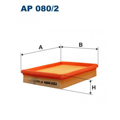 FILTRON FILTR POWIETRZA AP080/2