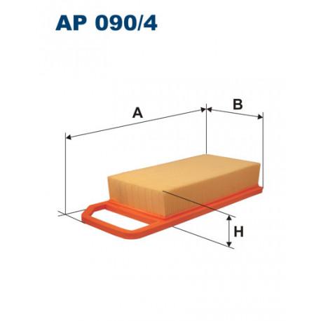 FILTRON FILTR POWIETRZA AP090/4