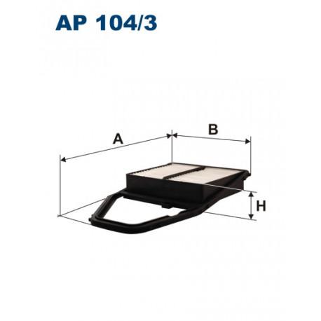 FILTRON FILTR POWIETRZA AP104/3