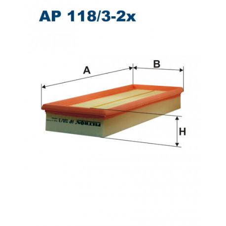 FILTRON FILTR POWIETRZA AP118/3-2X