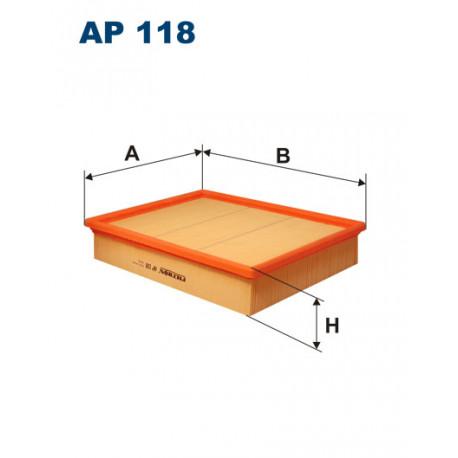 FILTRON FILTR POWIETRZA AP118