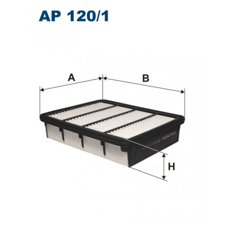 FILTRON FILTR POWIETRZA AP120/1