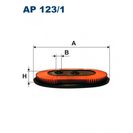 FILTRON FILTR POWIETRZA AP 123/1