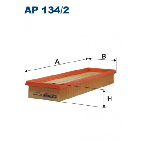FILTRON FILTR POWIETRZA AP134/2