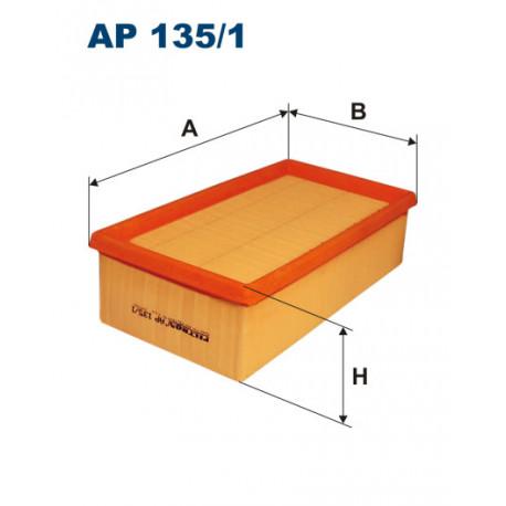 FILTRON FILTR POWIETRZA LAGUNA I 3.0 AP135/1